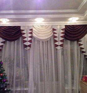 Пошив штор и ремонт одежды!