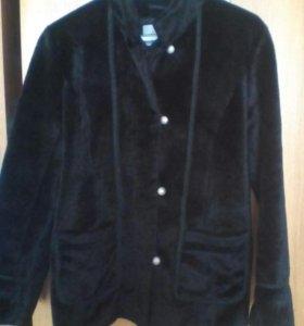 Куртка из стриженого искусственного меха