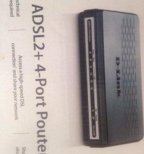 Роутер ADSL d-link