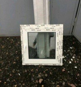Окно ПВХ 670×670