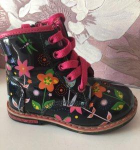 Детские ботинки весна/осень