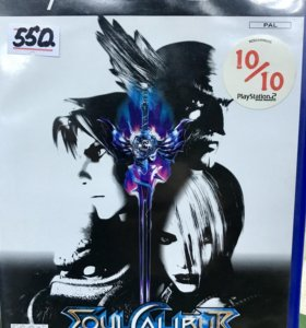 Soul calibur 2 диск для PlayStation 2