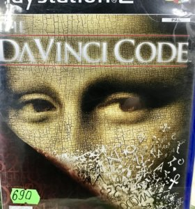 Davinci code диск для PlayStation 2