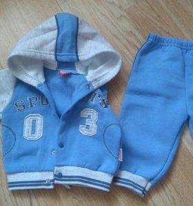 Спорт костюм 3-7мес