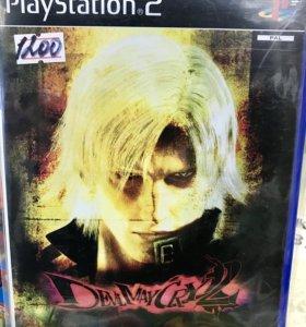 Devil may cry 2 диск для PlayStation 2