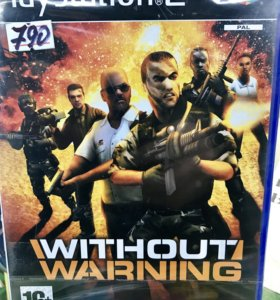 Without warning диск для PlayStation 2