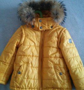 Детский костюм куртка+штаны зима Borelli