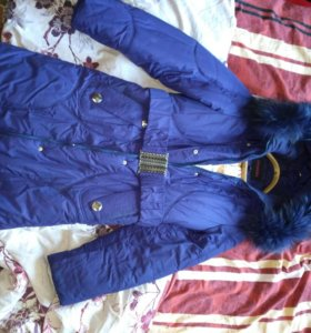 Пальто зимнее на синтепоне,очень теплое