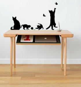 Наклейки кошки
