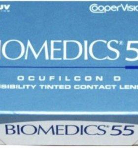 Линзы биомедикс 55