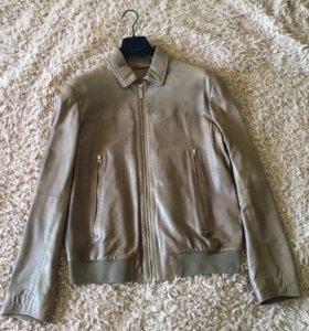 Кожаная куртка Trussardi Jeans