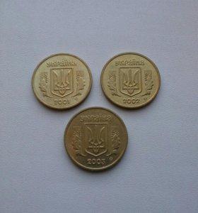 Набор из 3 монет.