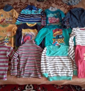 Одежда для мальчика на возраст 2-3 года