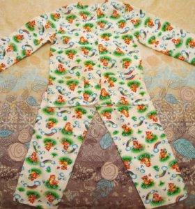 Пижама из фланели детская