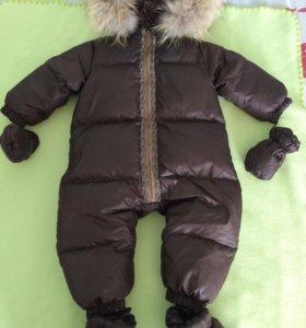 Пуховик детский зимний