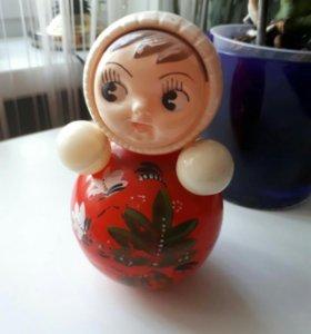 Кукла неваляшкаСССР