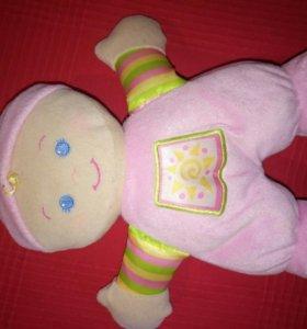 """Моя первая куколка"" Fisher - Price от 6 м."