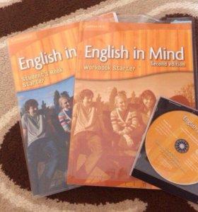 Учебник и тетрадь English in Mind