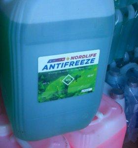 Антифриз зелёный G11 (20 кг)