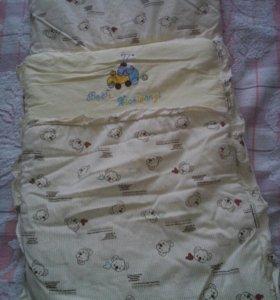 Спальный мешок, конверт
