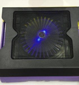 Охлаждающая подставка для ноутбука с подстветкой