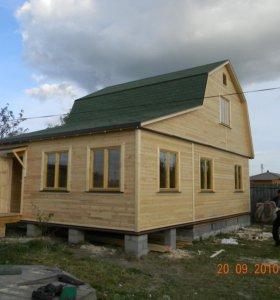Строительство каркасных домов,металоконструкций.