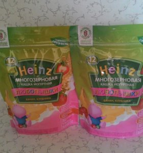 Многозерновая кашка йогуртная Heinz