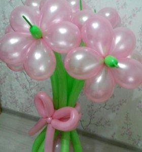 Букет из шаров, цена за 1 цветок