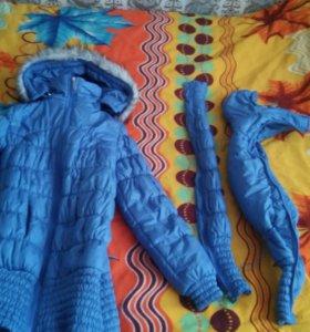 Слинго куртка для беременных 3в1