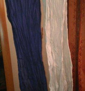 Легкие хлопковые,жатые шарфы