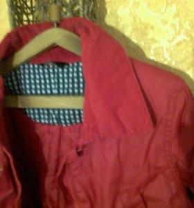 Куртка не промокаемая новая
