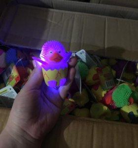 Мигающая мохнатая игрушка Bebelot