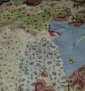 Вещи для малыша 56 размер