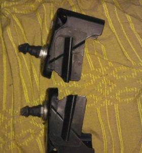 Фиксаторы крепления задних сидений приора