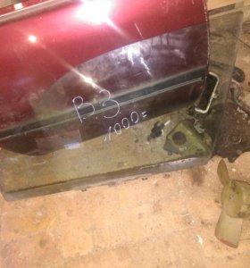 Стекло водительской двери Volkswagen Passat B3