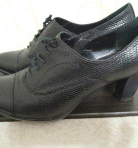 Ботинки- туфли Respect натуральная кожа