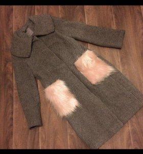 Пальто серое Снежная королева La Rein Blansh