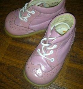 Ботинки для девочки весна/осень Тотто 20 размер
