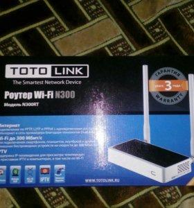 Роутер TOTO LINK N300