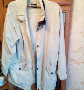 Стильная,легкая мужская демисизоннная куртка