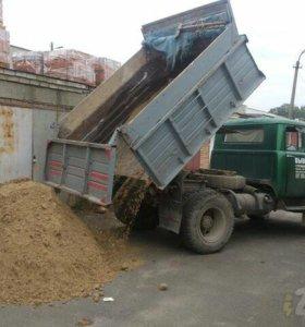Песок для строителей