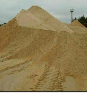 Песок карьерный высокого качества, Без глины