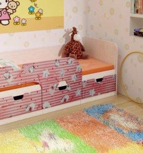 Детская кровать Пинк.