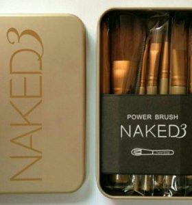 Набор кистей для макияжа Naked 3