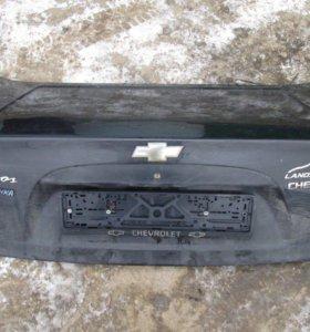 Крышка багажника на Ланос