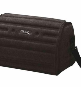 Сумка-органайзер 3D в багажник маленькая черная