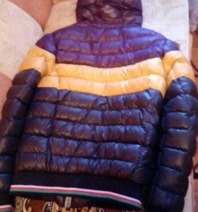 Куртка зима на подростка.