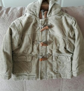 Курточка на весну, тёплая с подкладом на 1-1,5 г.