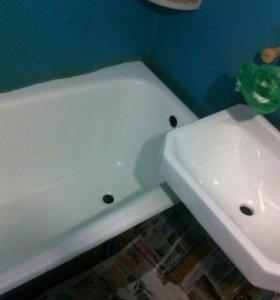 Старая ванна как новая