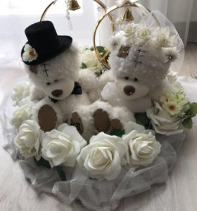 Украшения свадебной машины